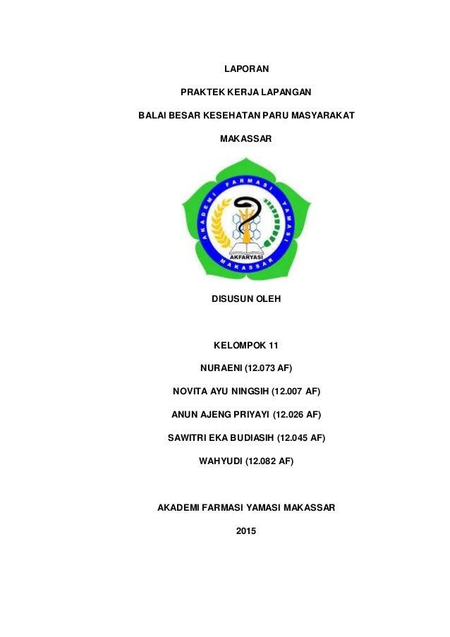 Laporan Pkl Balai Paru