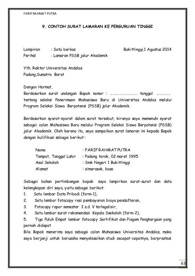 contoh surat audiensi ke rektor surat 35