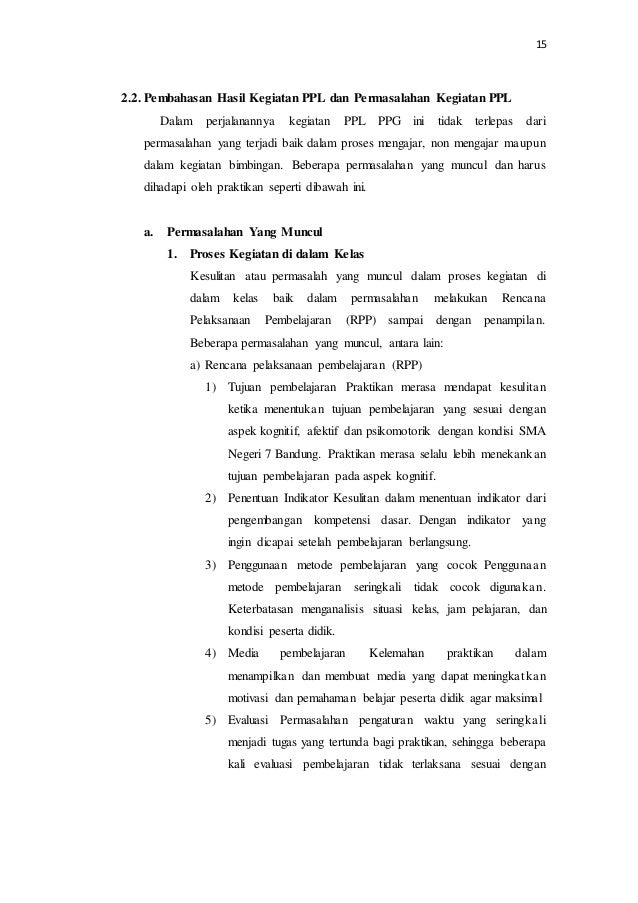 Laporan Ppl Ppg Pasca Sm 3t Muhamad Yogi Sman 7 Bandung