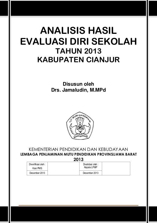 Laporan Analisis Eds 2013 Cianjur