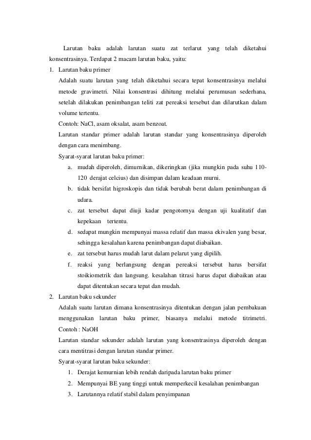 Contoh Laporan Praktikum Indikator Asam Basa Contoh Aneka
