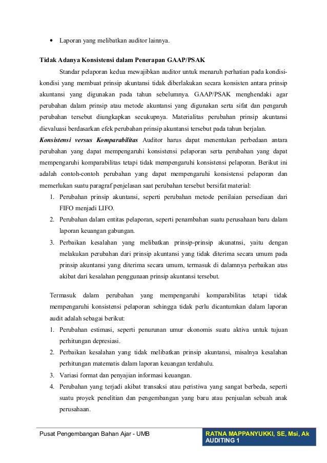 Laporan Audit Bentu Baku