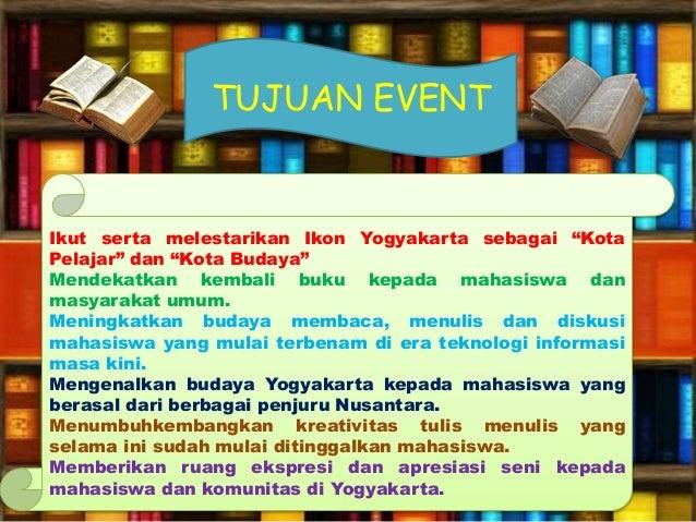 Contoh Laporan Kegiatan Event Management