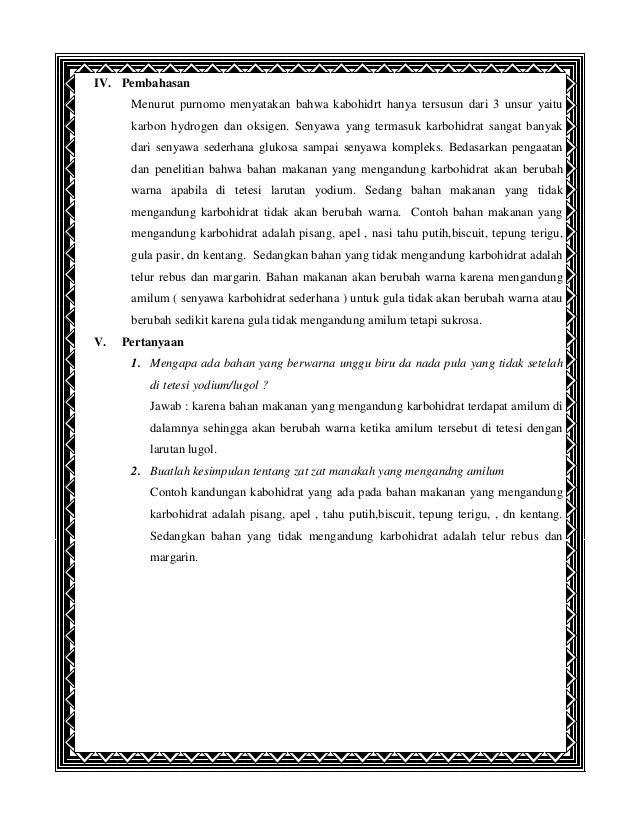 Laporan Praktikum Kd Ipa 1