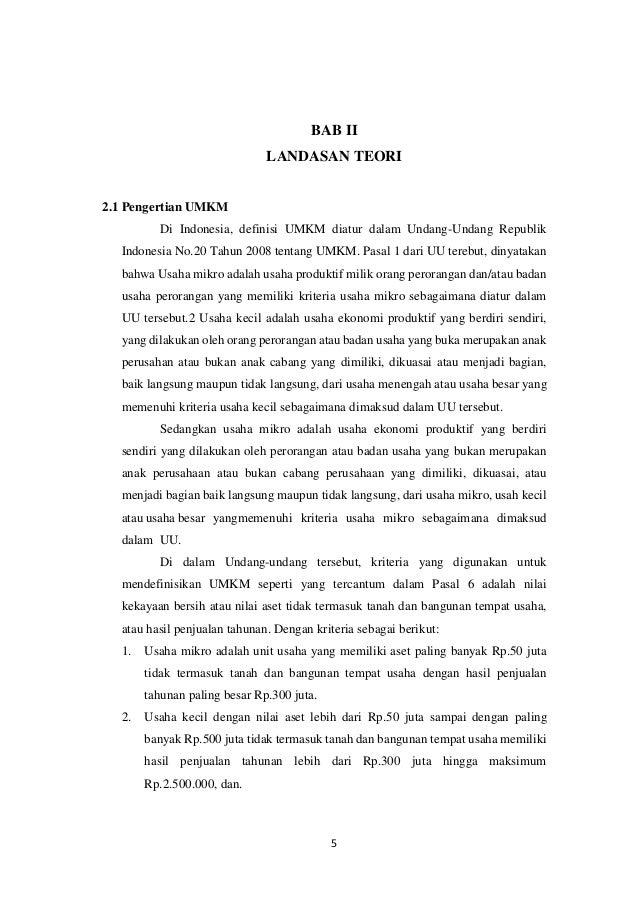 Hasil Observasi Umkm Kedai T Minul Manajemen Koperasi Dan Umkm Lap