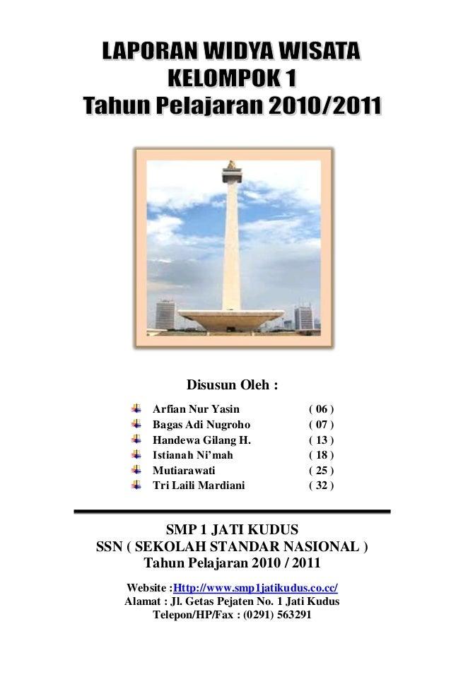 Download Laporan Studi Wisata
