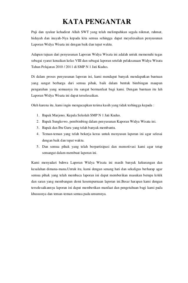 Laporan Karya Wisata Jakarta