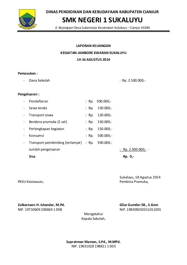Laporan Keuangan Jamran