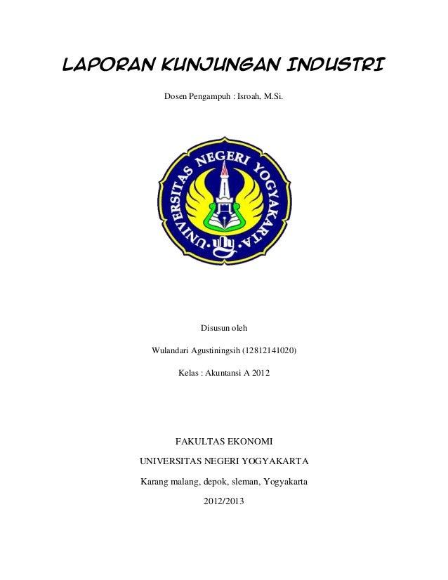 Contoh Laporan Kunjungan Industri Smk Jurusan Administrasi Perkantoran Temukan Contoh