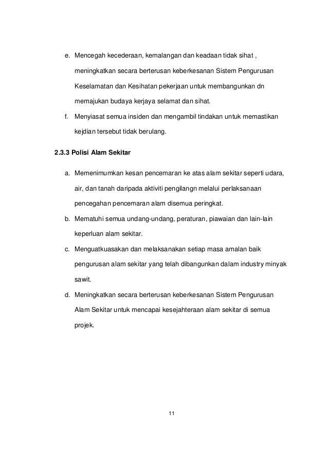 Contoh Laporan Latihan Industri Contoh Yes