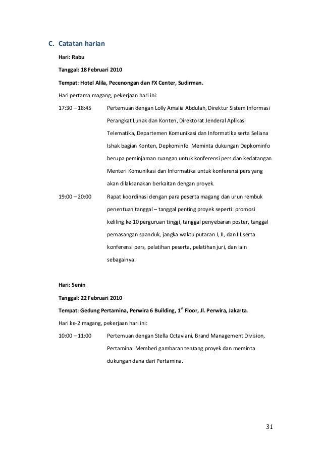 Laporan magang wikimedia indonesia slideshare - 웹