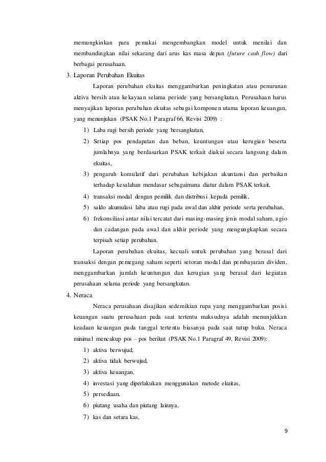 Laporan mini riset tentang perbedaan format lkpp 2013 ...