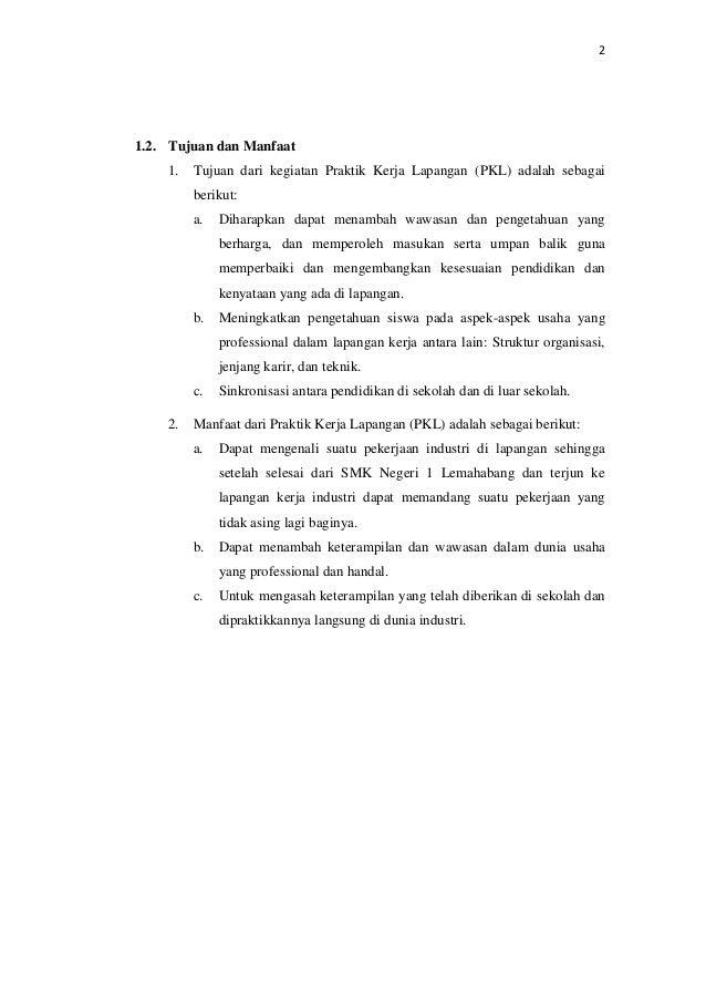 Contoh Laporan Prakerin Smk Multimedia