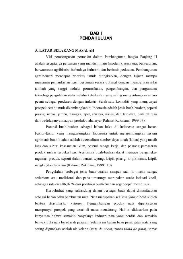 BAB I PENDAHULUAN A. LATAR BELAKANG MASALAH Visi pembangunan pertanian dalam Pembangunan Jangka Panjang II adalah tercipta...