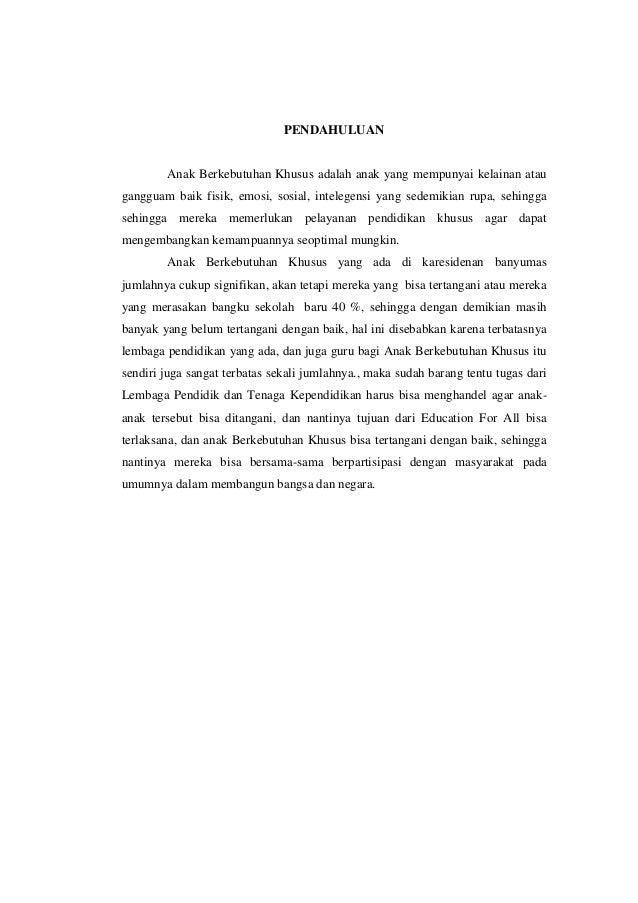 Doc Laporan Kegiatan Observasi Anak Berkebutuhan Khusus Abk Tunagrahita Di Skh Negeri 01 Kota Serang Nisa Yns29 Academia Edu