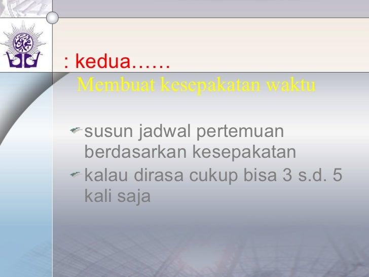 on the job learning cakep muhammadiyah (to do list) Slide 3