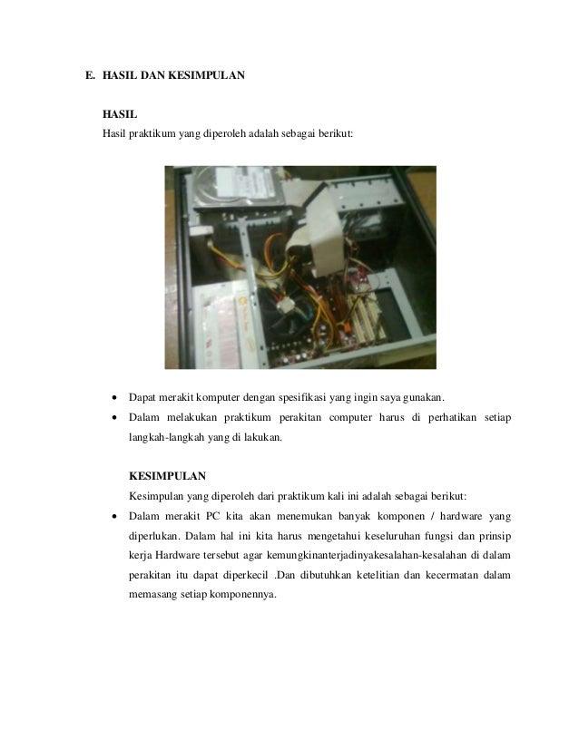 Tugas Praktikum Web Xc Tkj Contoh Laporan Perakitan Dan Jobsheet Siswa Xc