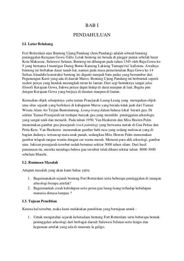 Laporan Penelitian Sejarah