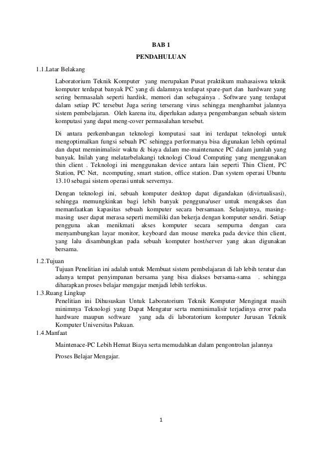 Contoh Project Metode Penelitian