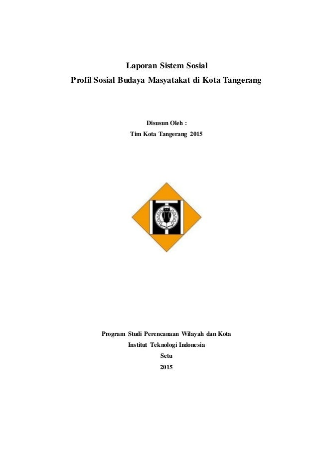 Contoh Laporan Penelitian Sosial Sederhana