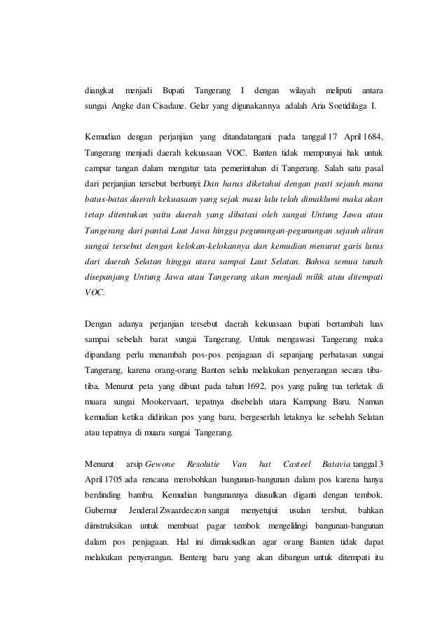 Laporan Penelitian Profil Sosial Budaya Masyarakat Di Kota Tangerang