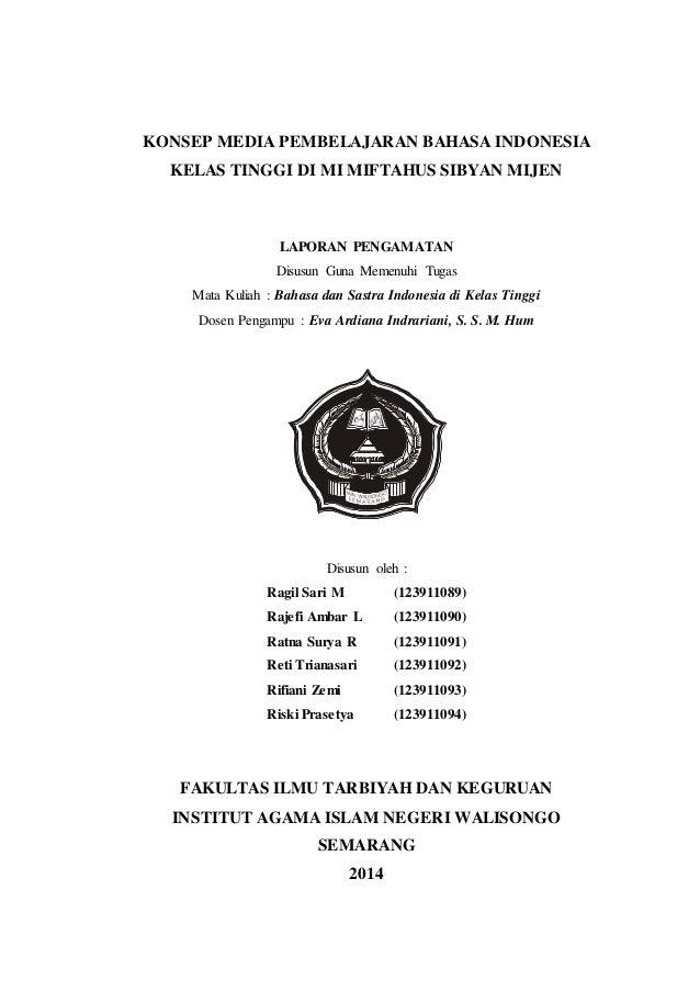Laporan Pengamatan Bhs Indonesia Zemi