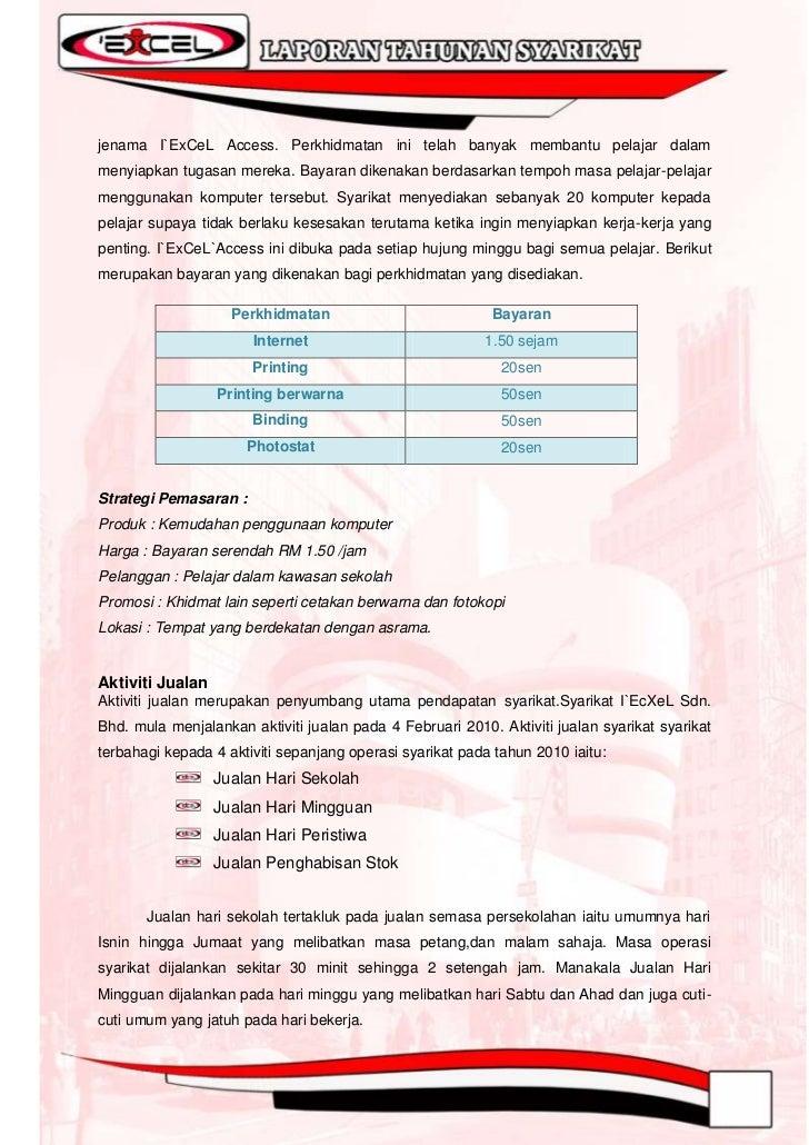 Syarikat I`ExCeL Sdn. Bhd. menjalankan Jualan Hari Peristiwa sebanyak 5 kalisepanjang tempoh pengoperasian dan Jualan Peng...