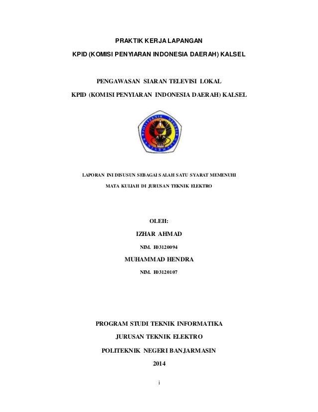 Contoh Makalah Visi Misi Kpid Download Contoh Lengkap Gratis