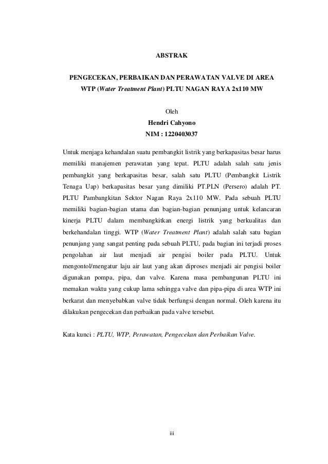 Contoh Laporan Pkl Politeknik Negeri Padang Contoh Aneka
