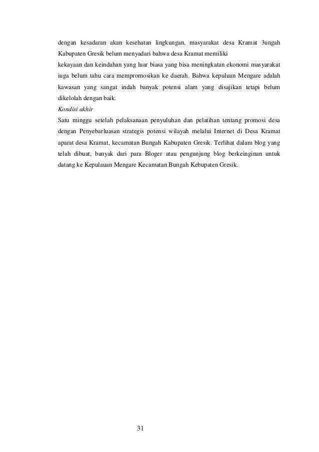 IbM PENGELOLAAN LINGKUNGAN KAWASAN PESISIR DI DESA KRAMAT ...