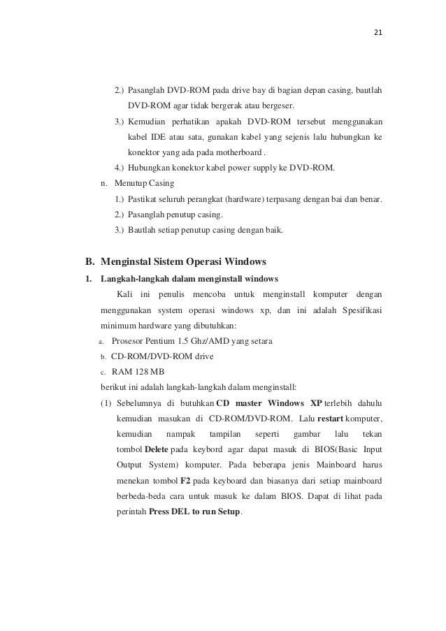 Contoh Laporan Hardware James Horner Unofficial