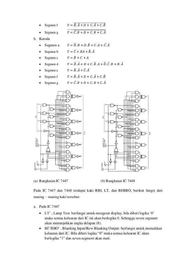 Pengubah BCD ke 7 segmen