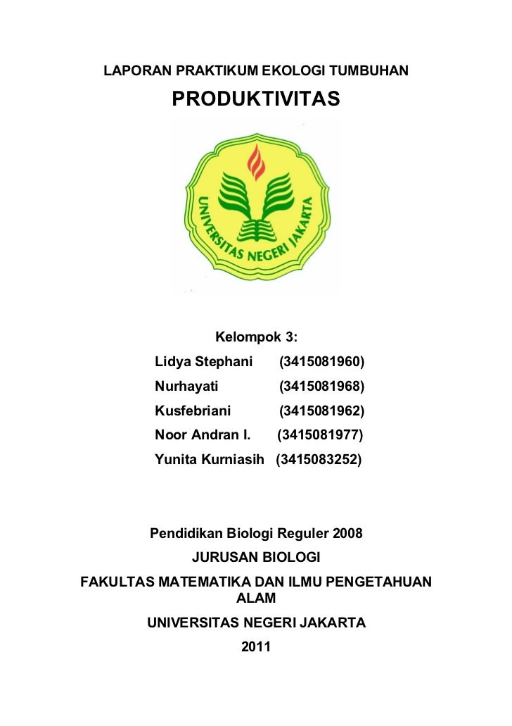 Laporan praktikum ekologi tumbuhan (2)