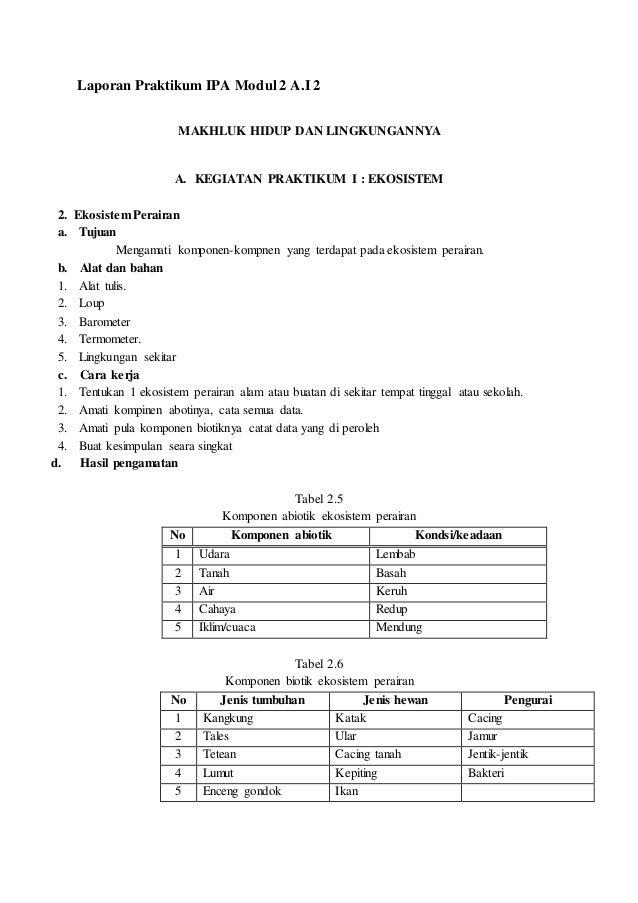 Laporan Praktikum Ipa Modul 2 1