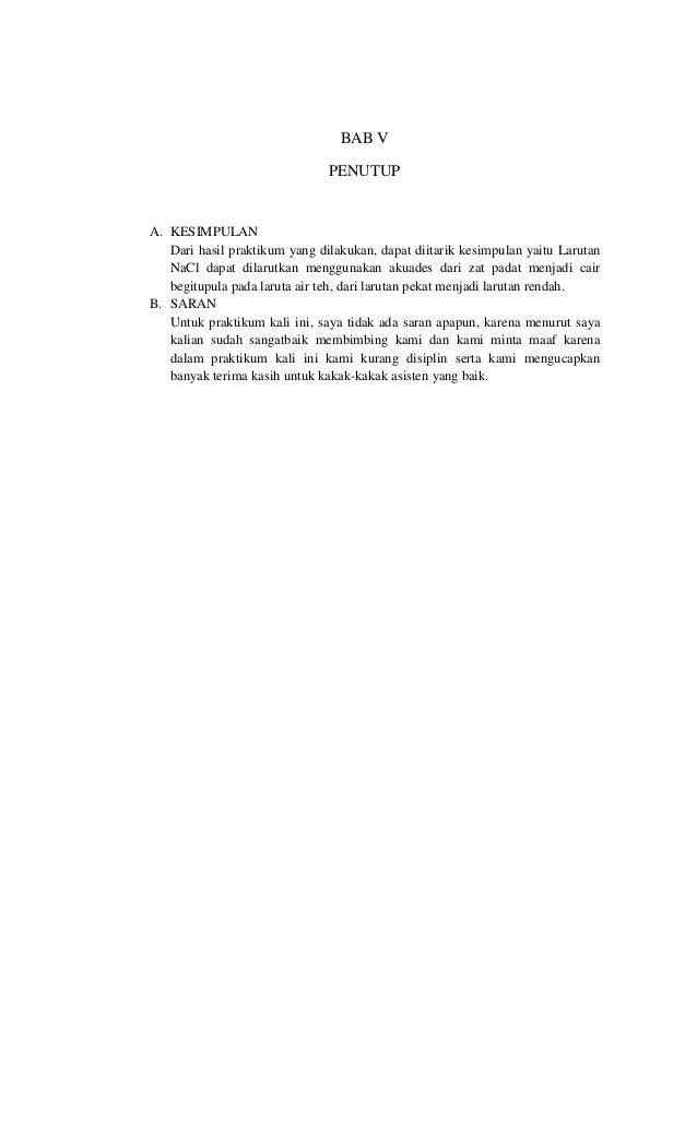Laporan Praktikum Kimia Tri Rahmatiani Gani