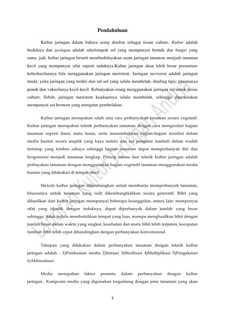 Laporan praktikum kultur jaringan andria unib