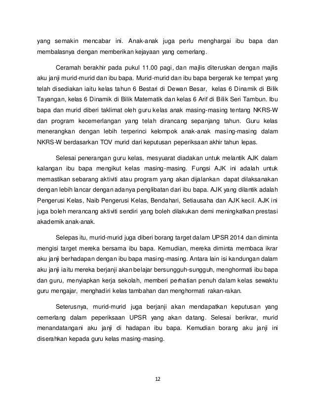 Contoh Karangan Laporan Aktiviti Kokurikulum Puasauu