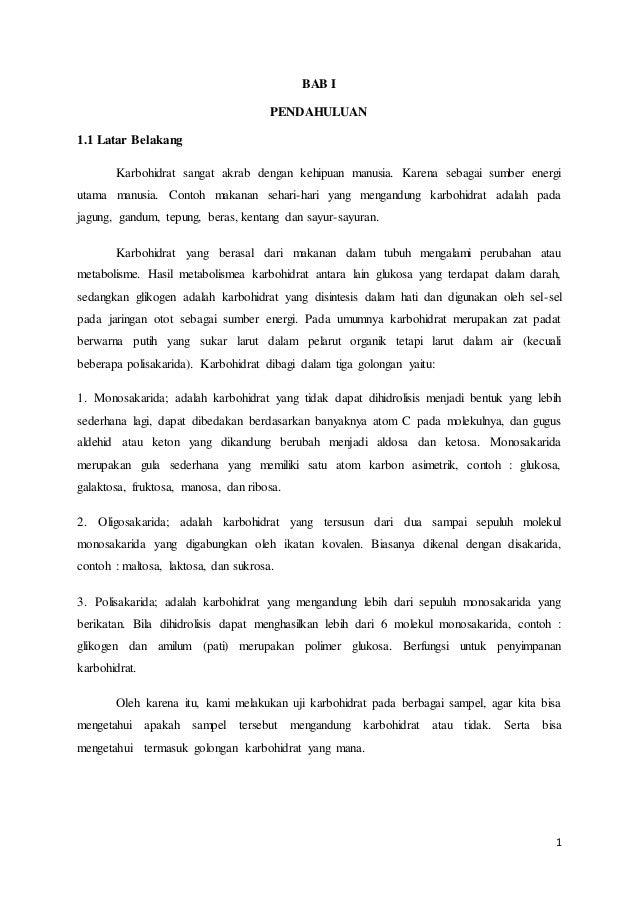 LAPORAN BIOKIMIA KARBOHIDRAT EBOOK DOWNLOAD