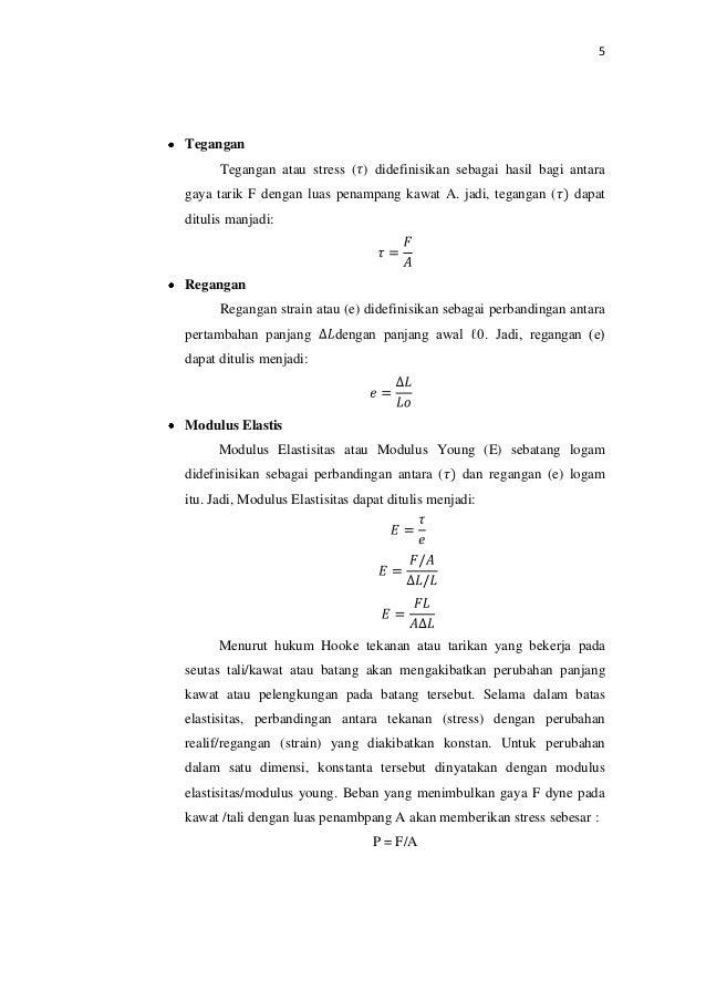 Laporan Praktikum Fisika Tetapan Pegas