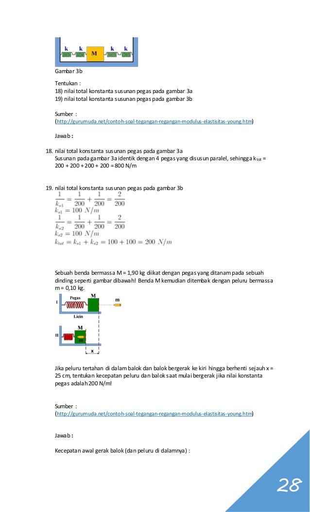 Kumpulan Soal Fisika Kelas Xi