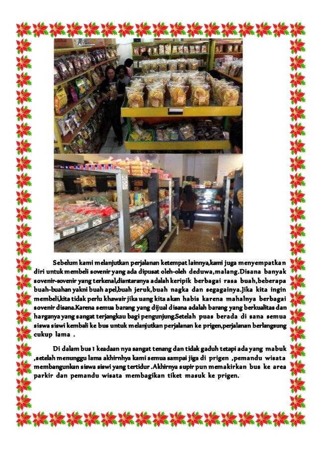 STUDY TOUR MALANG-SURABAYA - Kumpulan Materi Bahasa
