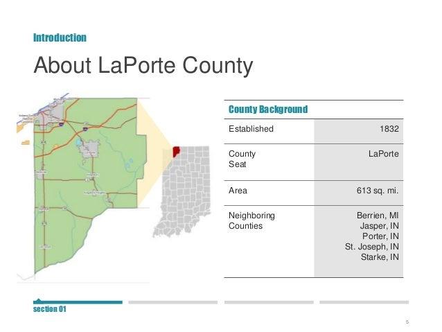 Laporte county snapshot for Laporte county gov