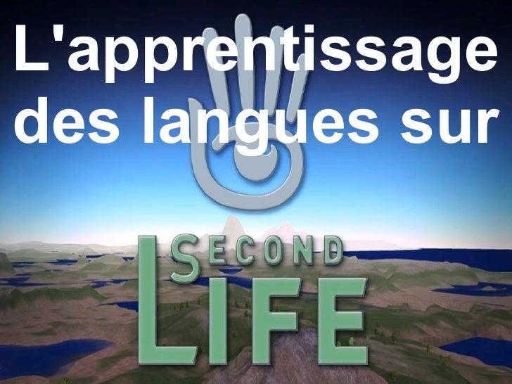 des langues sur L'apprentissage