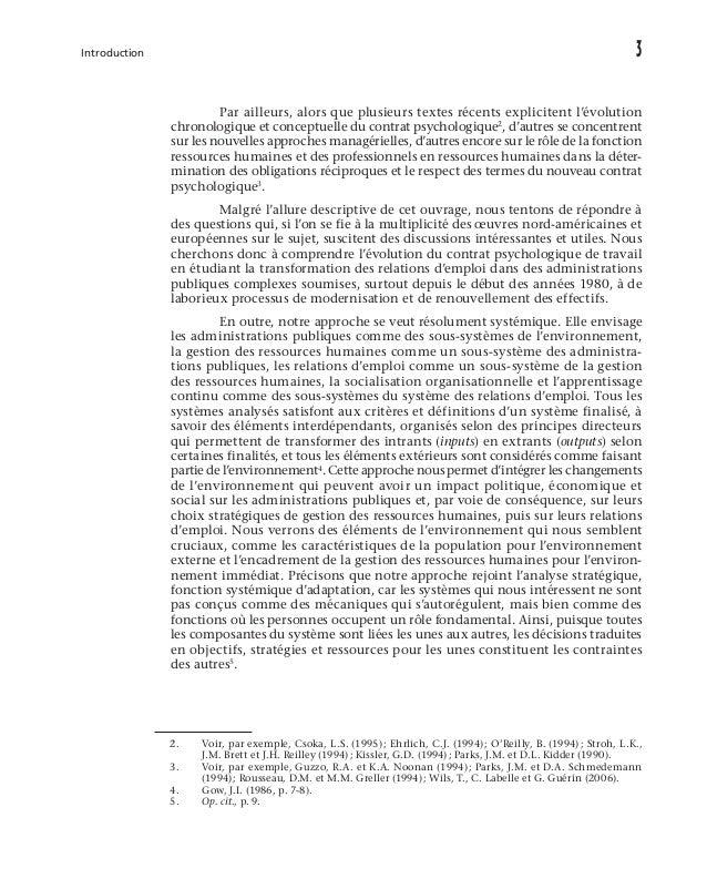 L'approche systémique de la gestion des ressources humaines plusieurs autres domaines tels que la psychologie sociale, la ...