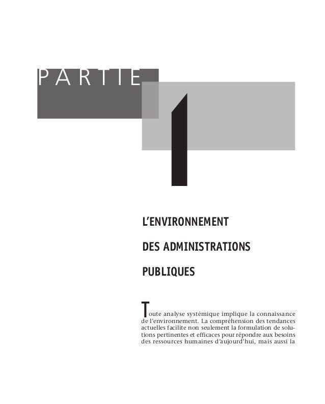 14 L'approche systémique de la gestion des ressources humaines des mesures devront être mises en place pour soutenir l'im...