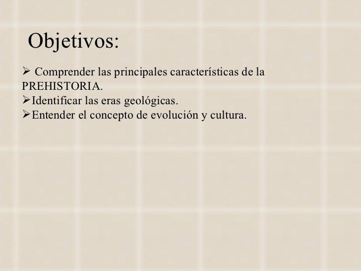 La prehistoria 2012 Slide 2