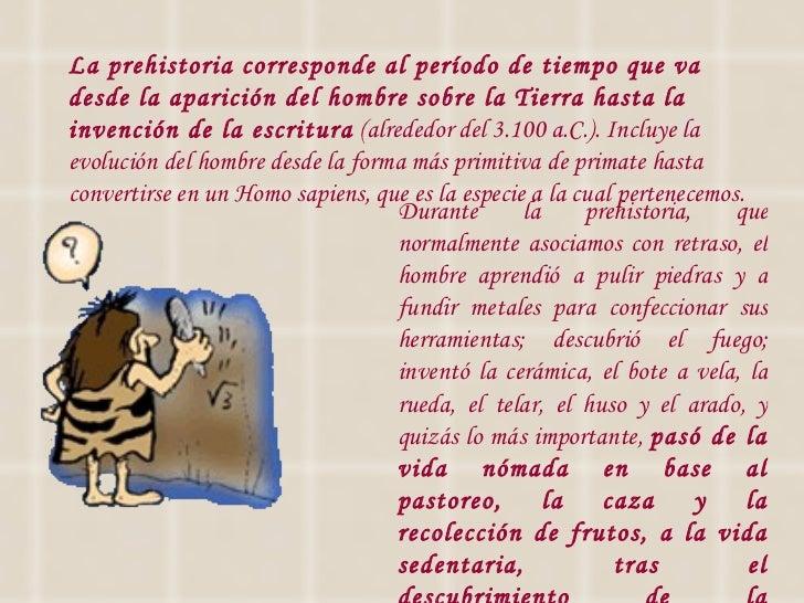 La prehistoria 2012 Slide 3