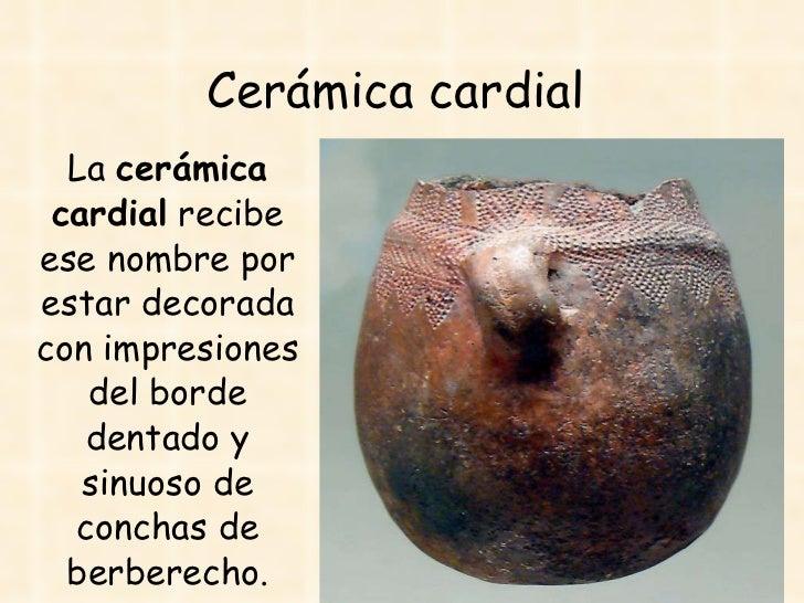 La prehistoria 5 Definicion de ceramica
