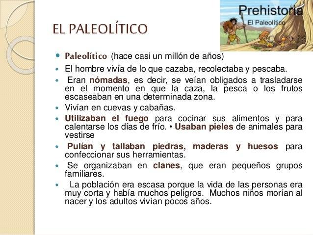 La prehistoria en primaria