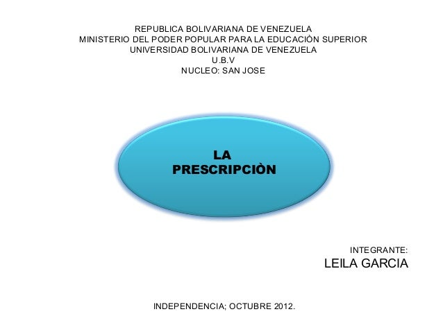 REPUBLICA BOLIVARIANA DE VENEZUELAMINISTERIO DEL PODER POPULAR PARA LA EDUCACIÒN SUPERIOR          UNIVERSIDAD BOLIVARIANA...